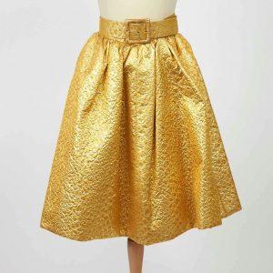 Falda dorada Givenchy