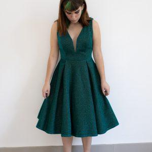 Vestido fifties